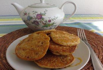 Pancake senza glutine con giuggiole