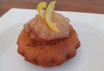 Tortine di farro con marmellata al limone