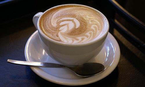 caffe latte gonfiore