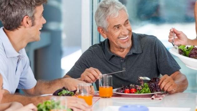 cosa mangiare 60 anni