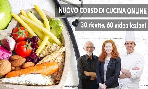 Corso di cucina online \