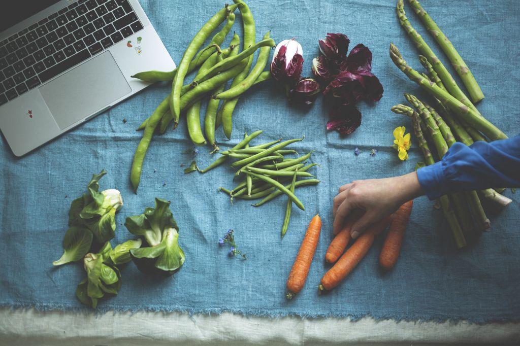 ricette primaverili corso online cucina